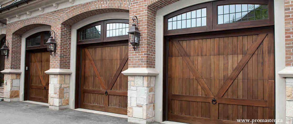 Residential Custom Wood Garage Doors Gulliver Garage Doors